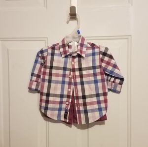 Janie & Jack 3-6 month purple outfit